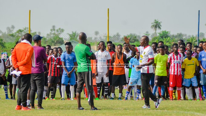 Kotoko settle on 30 players and 5 goalkeepers for Youth side