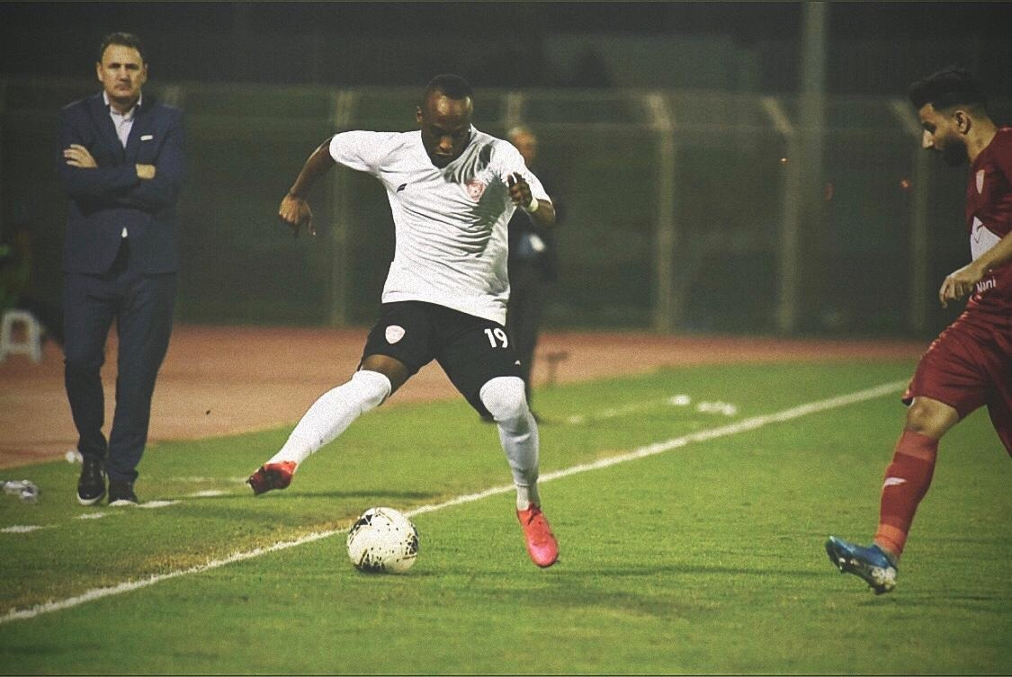Ishmael Yartey marked his full debut with a goal for Hetten FC in Saudi Arabia
