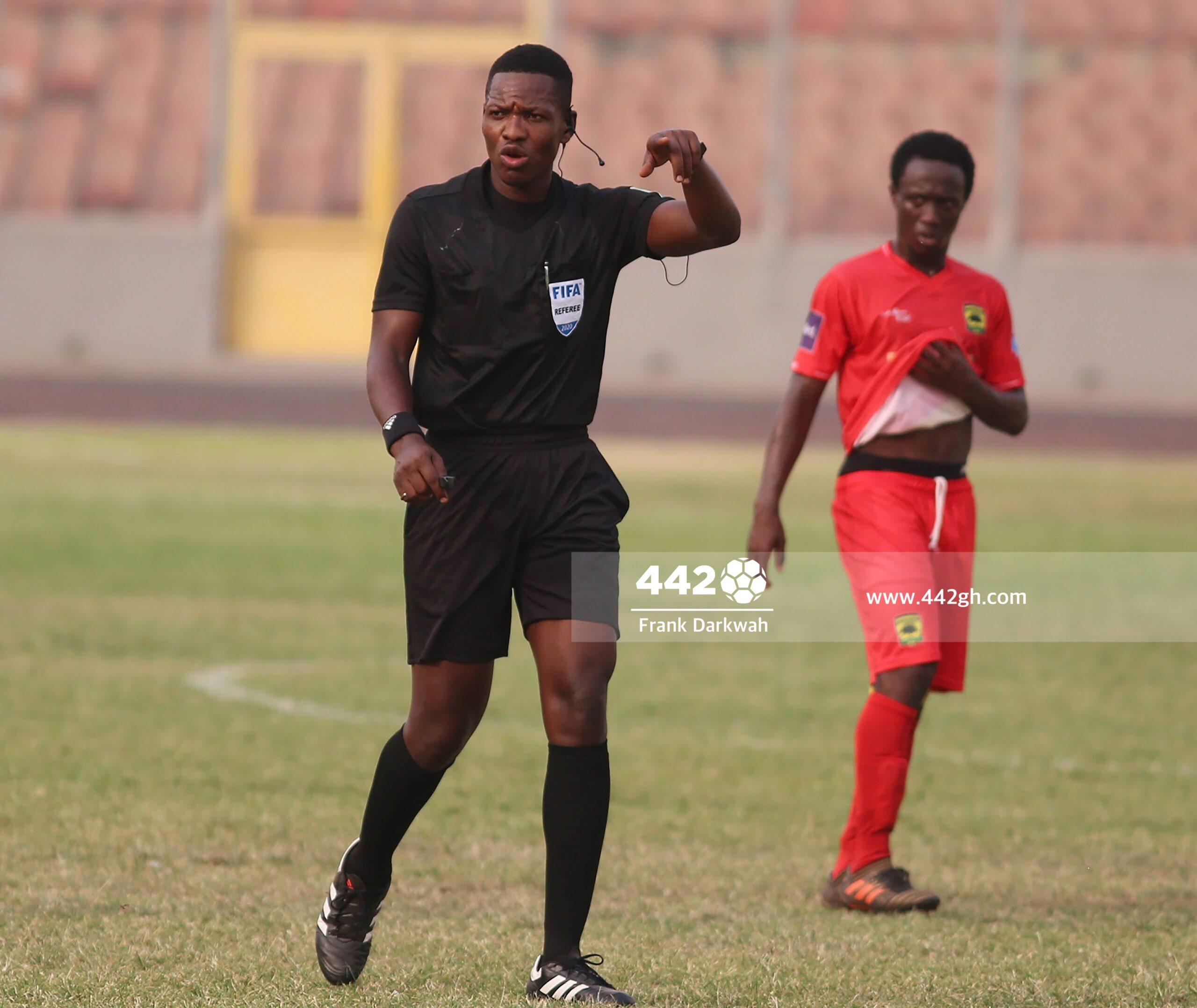 Ghanaian referee Daniel Laryea selected for 2021 CHAN tournament – Ghana  Sports Online